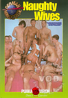 German Hardcore - Naughty Wives Box Cover