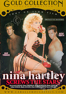 Nina Hartley Screws The Stars Box Cover