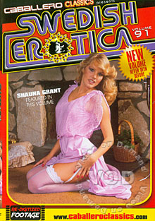 Swedish Erotica Volume 91 - Shauna Grant Box Cover