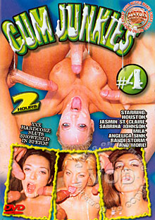 Cum Junkies #4 Box Cover