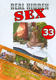 Real Hidden Sex 33 Box Cover