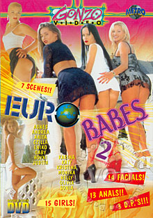 Euro Babes 2 Box Cover