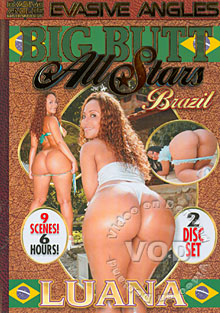 Big Butt All Stars Brazil - Luana (Disc 2) Box Cover
