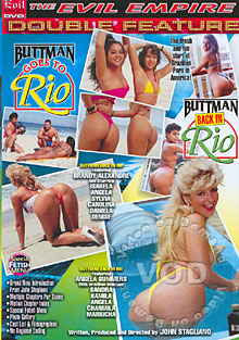 Buttman Back In Rio Box Cover