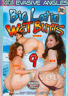Big Latin Wet Butts 9 Box Cover