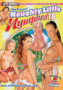 Naughty Little Nymphos #18 Box Cover