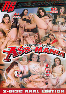 Ass-Mania (Disc 2) Box Cover