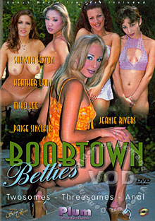 Boobtown Betties Box Cover
