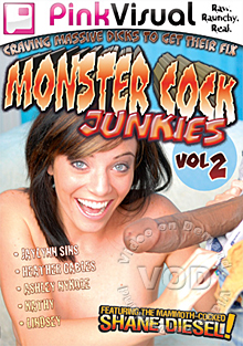 Monster Cock Junkies Vol 2 Box Cover