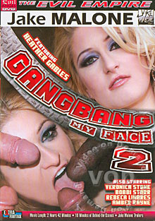 Gang Bang My Face 2 Box Cover