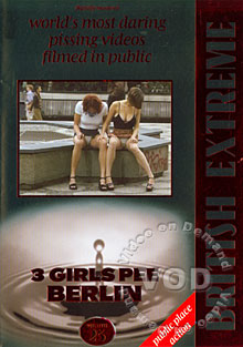 3 Girls Pee Berlin Box Cover