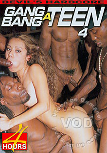 Gang Bang A Teen 4 Box Cover