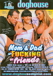 Mom & Dad Are Fucking My Friends Box Cover