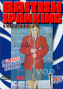 British Spanking Volume 4 Box Cover