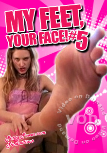 My Feet, Your Face! #5 Box Cover