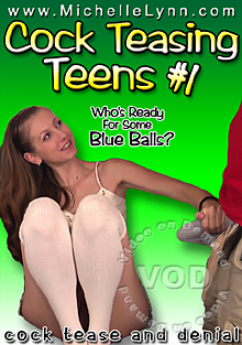 Cock Teasing Teens #1 Box Cover