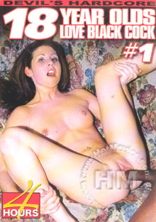 18 Year Olds Love Black Cock #1 Box Cover