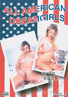 All American Dream Girls Volume #2 Gina Box Cover