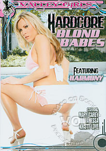 Hardcore Blond Babes Box Cover