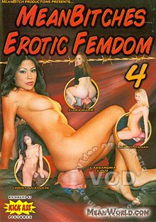 Mean Bitches Erotic Femdom 4 Box Cover