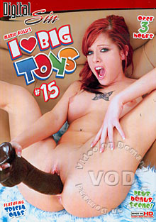 I Love Big Toys #15 Box Cover