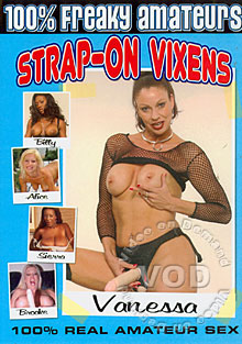 Strap-On Vixens Box Cover