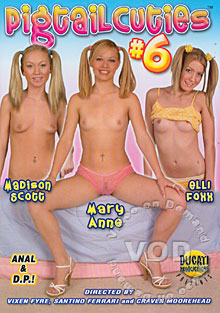 Pigtail Cuties #6 Box Cover