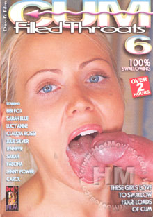 Cum Filled Throats 6 Box Cover