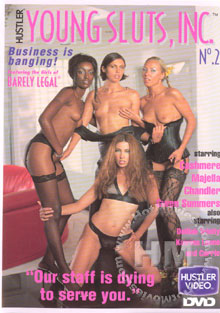 Young Sluts, Inc. No. 2 Box Cover