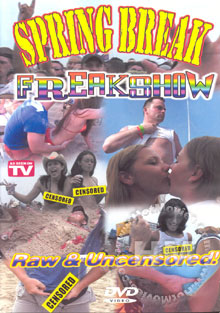 Spring Break Freakshow Box Cover