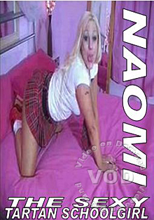 Naomi The Tartan Schoolgirl Part 2 Box Cover