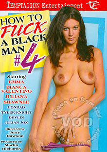How To Fuck A Black Man #4 Box Cover