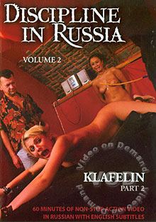 Discipline In Russia Volume 2 - Klafelin Part 2 Box Cover