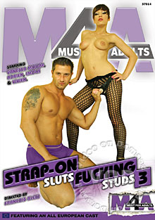 Strap-On Sluts Fucking Studs 3 Box Cover