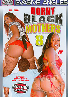 Horny Black Mothers 8 Box Cover