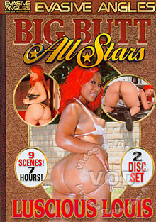 Big Butt All Stars - Luscious Louis (Disc 1) Box Cover