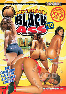 My Thick Black Ass #30 Box Cover