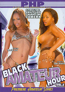 Black Amateur Hour Vol. 2 Box Cover