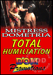 Mistress Dometria - Total Humiliation Box Cover