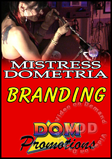 Mistress Dometria - Branding Box Cover
