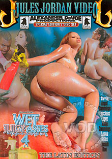 Wet Juicy Asses 4 - The Latin Edition (Disc 1) Box Cover