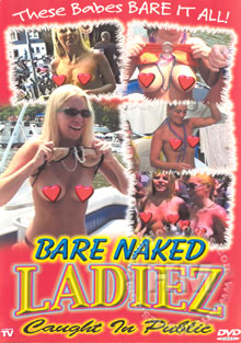 Bare Naked Ladiez Caught In Public Box Cover