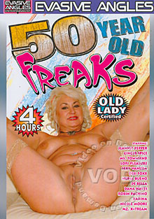 50 Year Old Freaks Box Cover