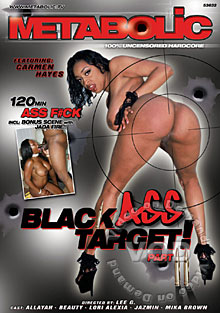 Black Ass Target! Part II Box Cover