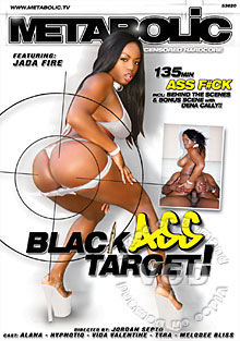 Black Ass Target! Box Cover