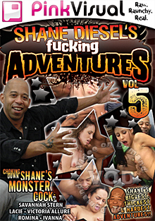 Shane Diesel's Fucking Adventures Vol. 5 Box Cover