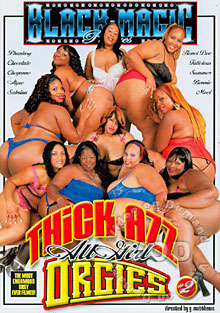 Thick Azz All Girl Orgies #2 Box Cover
