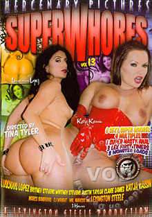 Super Whores Vol. 13 Box Cover
