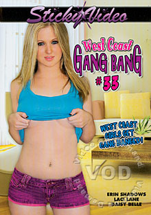 West Coast Gang Bang #33 Box Cover