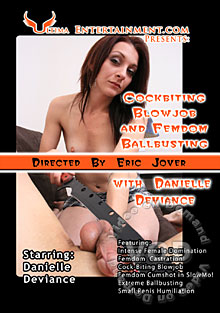 Cockbiting Blowjob And Femdom Ballbusting Box Cover